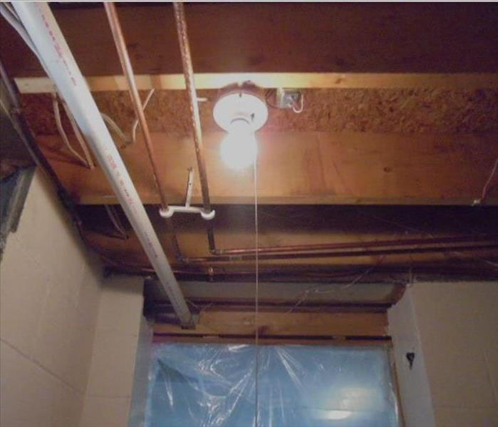 Basement Mold Remediation  After
