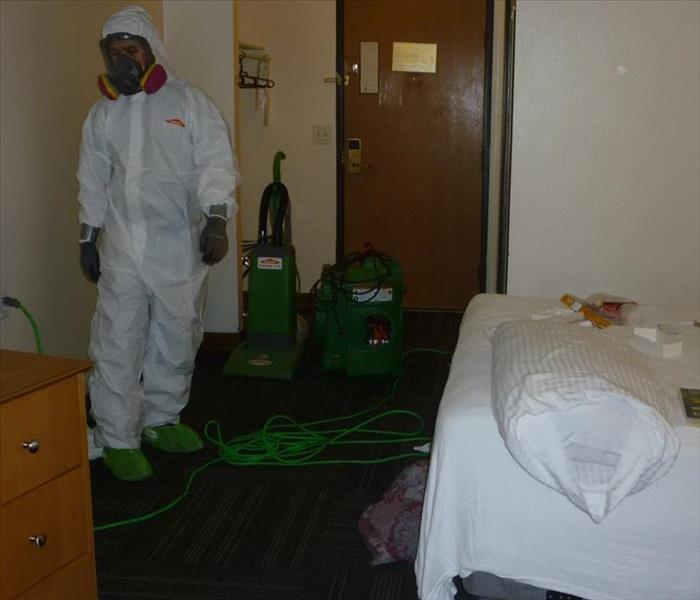 Hotel Drug Clean Up Before