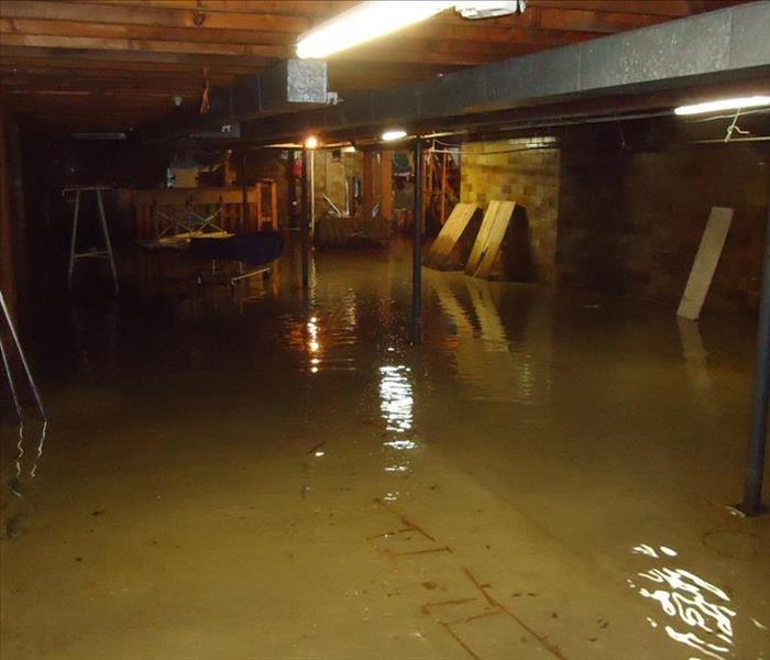 Flooded Funeral Home